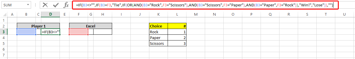 rock paper scissors change this limited